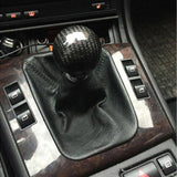 Carbon Fiber Ball Sphere Lever Gear Shift Knob Manual Transmission Universal - Top JDM Store