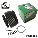 s14 boss kit,hub sports,hub sports boss kit,quick release hub,short steering wheel hub,steering wheel hub,steering wheel hub kit,nrg hub adapter,steering wheel adapter,steering wheel control adapter,nrg quick release steering wheel,quick release boss kit,6 bolt steering wheel adapter