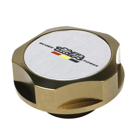 Mugen Power Titanium Aluminum Engine Oil Cap Cover for Honda - Top JDM Store