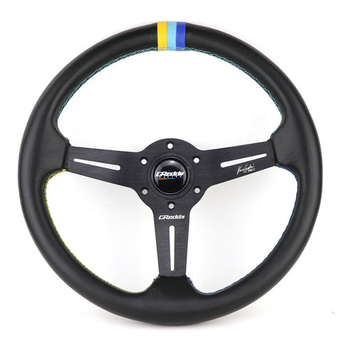 GReddy GPP Steering Wheel Leather 14inch