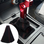Universal Suede Leather Shift Knob Boot