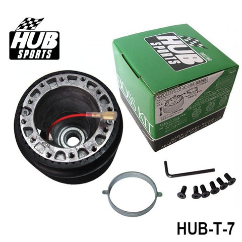 toyota boss kit,hub sports,hub sports boss kit,quick release hub,short steering wheel hub,steering wheel hub,steering wheel hub kit,nrg hub adapter,steering wheel adapter,steering wheel control adapter,nrg quick release steering wheel,quick release boss kit,6 bolt steering wheel adapter