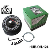 honda boss kit,hub sports,hub sports boss kit,quick release hub,short steering wheel hub,steering wheel hub,steering wheel hub kit,nrg hub adapter,steering wheel adapter,steering wheel control adapter,nrg quick release steering wheel,quick release boss kit,6 bolt steering wheel adapter