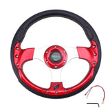 Sport Racing Steering Wheel 14inch 6 Bolt