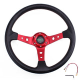 Racing Deep Dish Steering Wheel Universal 14inches 350mm