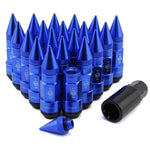 ITSOK Extended Spike Tuner Lug Nuts Lightweight 80mm