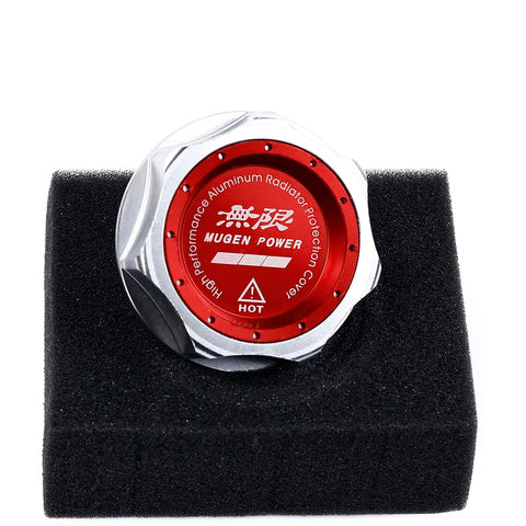 Mugen Power Aluminum Engine Oil Cap Cover for Honda Civic Fit Accord CR-V XR-V Vezel