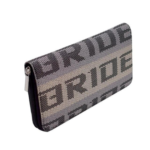 JDM Bride Racing Zipper Wallet Holder Case - Top JDM Store