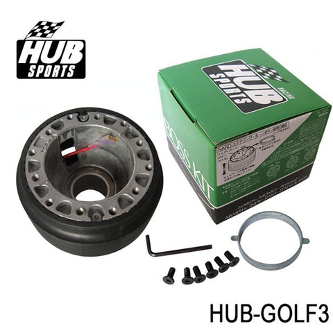 vw golf boss kit,hub sports,hub sports boss kit,quick release hub,short steering wheel hub,steering wheel hub,steering wheel hub kit,nrg hub adapter,steering wheel adapter,steering wheel control adapter,nrg quick release steering wheel,quick release boss kit,6 bolt steering wheel adapter