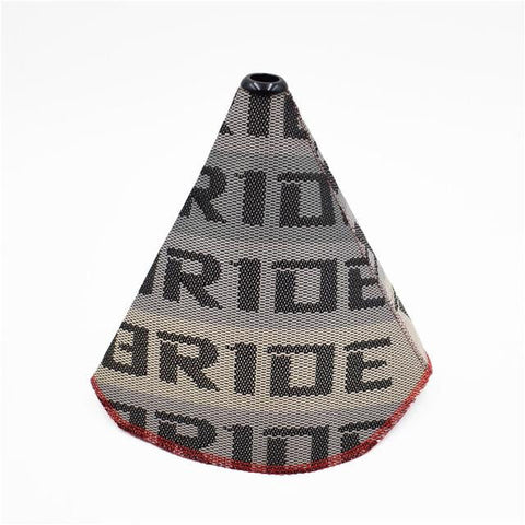 JDM Bride Shift Boot Cover Red Stitching Canvas - Top JDM Store