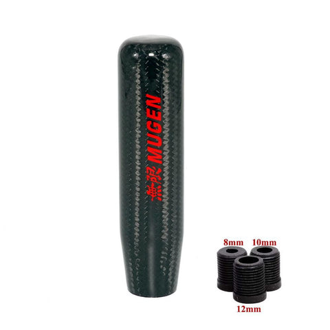 Mugen Carbon Fiber 13cm Gear Shift Knob - Top JDM Store