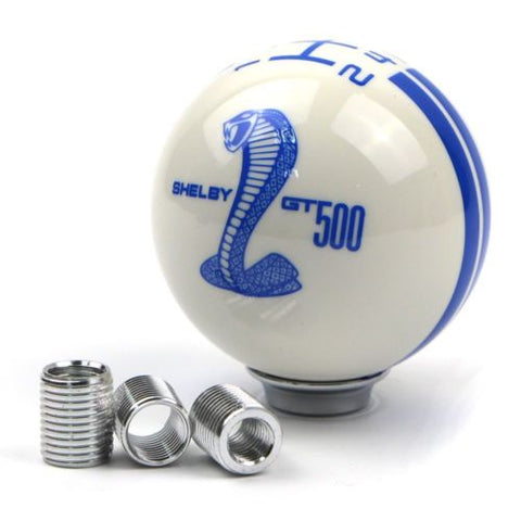 Shelby Cobra GT500 Round Gear Shift Knob MT 5 Speed