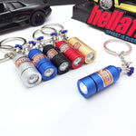NOS Bottle Keychain LED Light