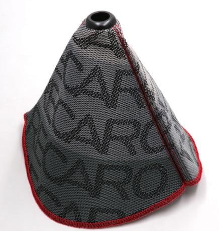 JDM RECARO Canvas Shift Boot Cover with Red Stitching - Top JDM Store