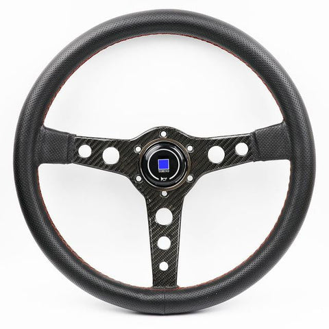 ND Lightweight Aftermarket Steering Wheel Black Leather - Top JDM Store