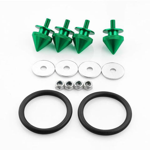 Spiked Quick Release Bumper Hatch Lid Fasteners Kit