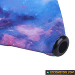 Starry Evening Purple Sky Fabric Shift Boot