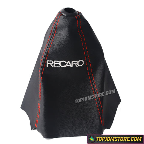 Recaro Leather Shift Boot Red Stitch