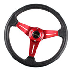 MOMO Steering Wheel Retro 3 Spoke - Top JDM Store - momo steering wheel,momo prototipo,momo monte carlo,momo steering,momo hub,momo quick release,momo racing steering wheel,momo tuner,momo wood steering wheel,momo mod 78,momo heritage,momo corse steering wheel,momo quick release steering wheel