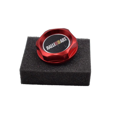RALLIART Engine Oil Cap Cover - Top JDM Store