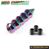 Spiked Cone Knuckle Grip Shift Knob 146mm