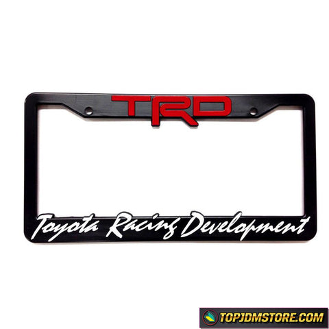 TRD license plate frame,spoon sports license plate framejdm license plate frame,tuner license plate frames,license plate holder,custom license plate frames,front license plate bracket,license plate bracket,number plate frame,license plate mount,car license plate frame