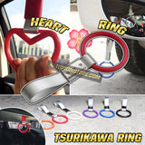 Tsurikawa JDM Ring Charm Japanese Subway Handle