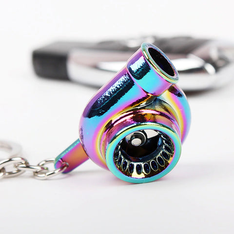 Sleeve Bearing Turbo Keychain