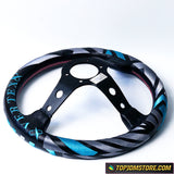 vertex steering wheel,aftermarket steering wheel,jdm steering wheel,momo steering wheel,keys racing steering wheel,blue steering wheel,best aftermarket steering wheel,ek9 steering wheel,keys racing wheel,dc5 steering wheel,drifting steering wheel