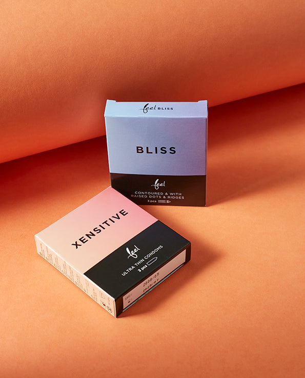 Bliss Condoms Xensitive and Bliss