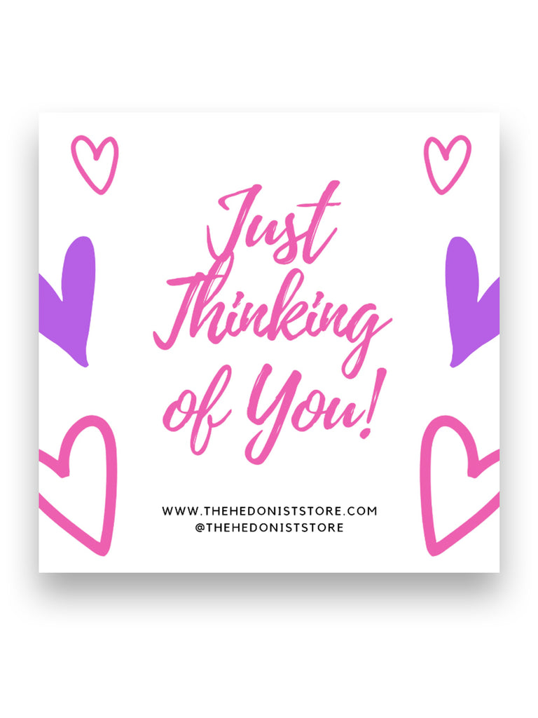 Greeting Card:  Just Thinking Of You!