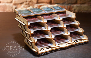 UGears Games Card Holder Mechanical Model Kit