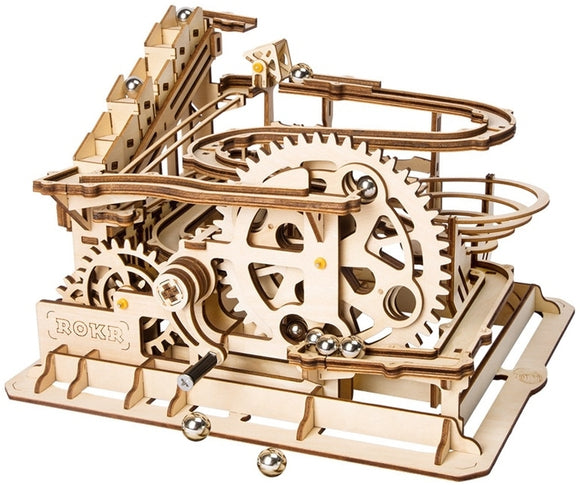 Waterwheel Coaster Marble Run Model Kit
