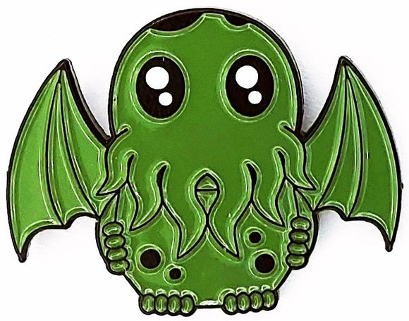 Stained Glass Cthulhu Suncatcher