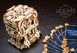 UGears Games Deck Box Mechanical Model Kit