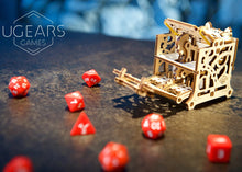Load image into Gallery viewer, UGears Games Dice Keeper Mechanical Model Kit