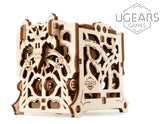 UGears Games Dice Keeper Mechanical Model Kit
