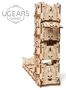 UGears Games Dice Tower Mechanical Model Kit