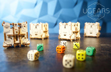 Load image into Gallery viewer, UGears Games Dice Tower Mechanical Model Kit