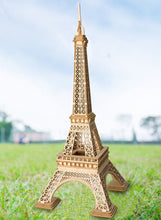 Load image into Gallery viewer, Eiffel Tower 3-D Wood Puzzle Kit