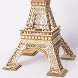 Eiffel Tower 3-D Wood Puzzle Kit