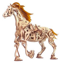 Load image into Gallery viewer, Horse Mechanoid Mechanical Model Kit