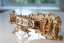 Load image into Gallery viewer, Hurdy-Gurdy Playable Instrument Mechanical Model Kit