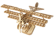 Load image into Gallery viewer, Triplane 3-D Wood Puzzle Kit