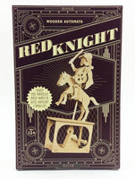 Red Knight Wood Automaton Model Kit