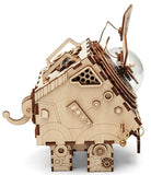 Seymour, the Faithful Singing Dog - Steampunk Wood Music Box Kit