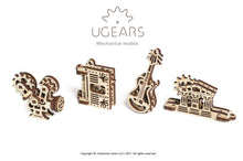 Load image into Gallery viewer, U-Minis Small Mechanical Model Kits (Set of 4)