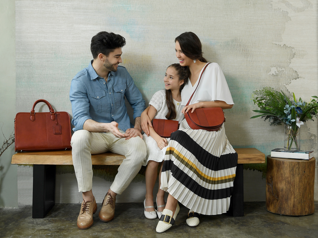 Leather Bags for the family