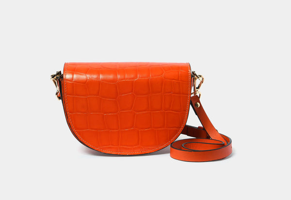 Crossbody Bag - Bright Orange