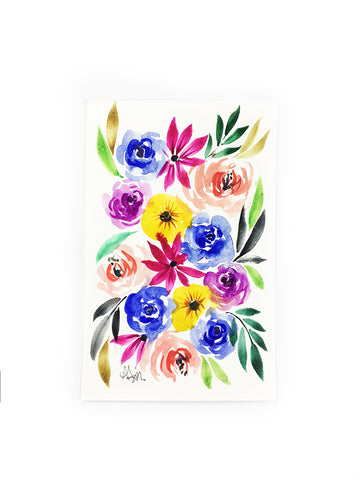 little flower painting 10